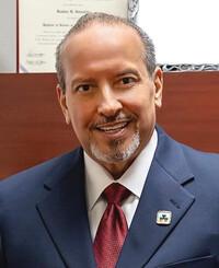 Insurance Agent Reuben Gonzales