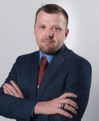 Agente de seguros Chris Rhine