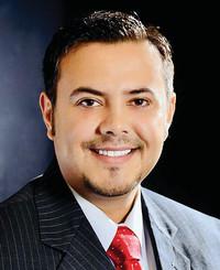 Agente de seguros Eddie Sandoval