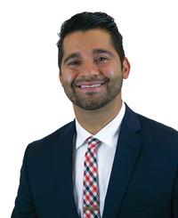 Agente de seguros Cyrus Jaffery