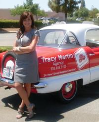 Insurance Agent Tracy Martin