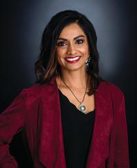 Insurance Agent Meera Patel White